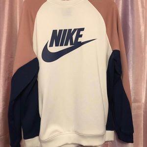 NWOT Nike Colorblock Sweatshirt